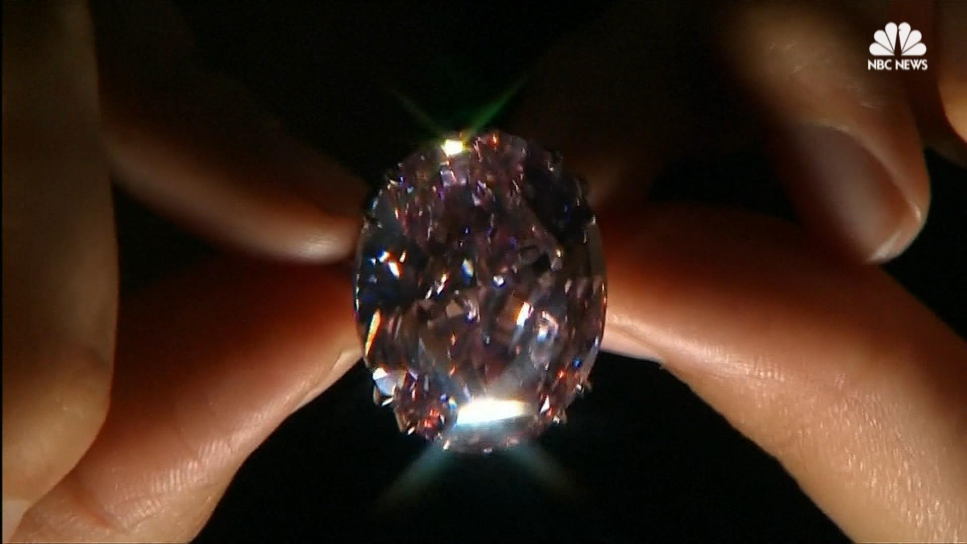 Pretty Expensive And Pink Diamond Hits The Auction Block