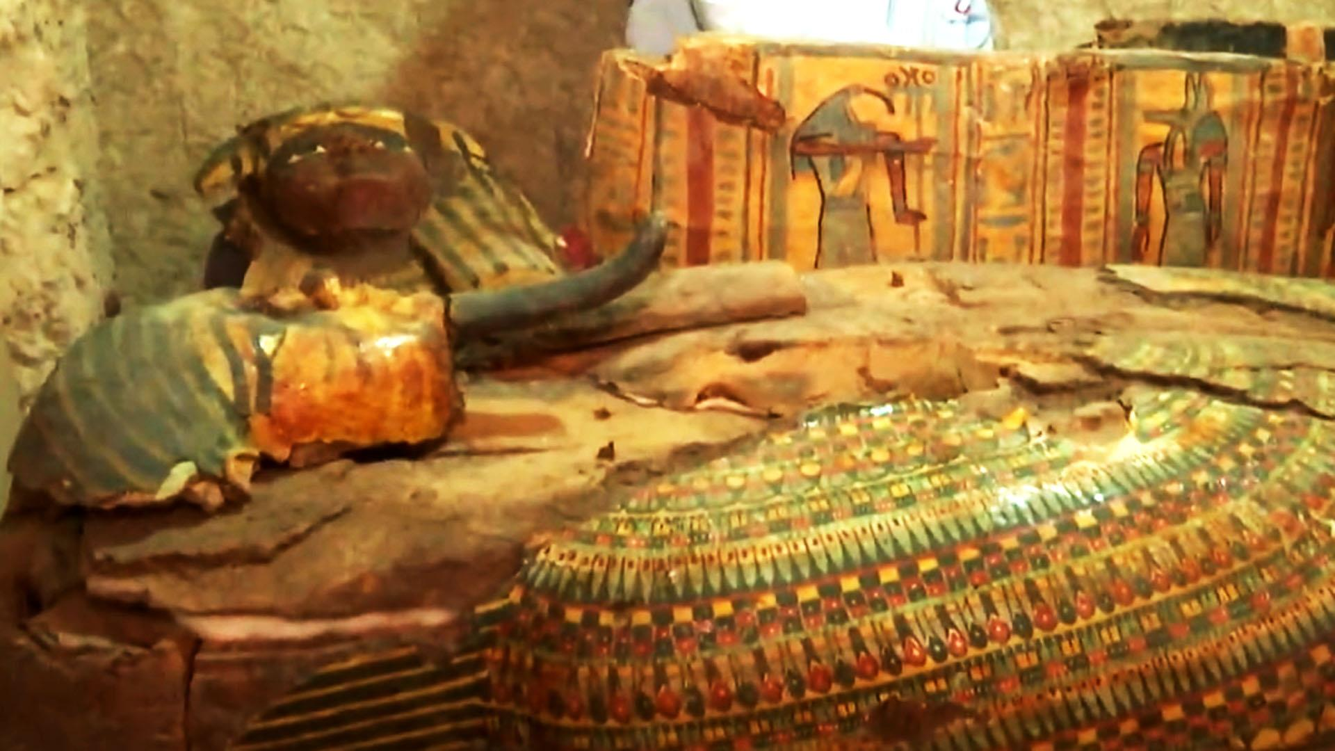 3,500 year old Egyptian tomb unearthed near Luxor - NBC News