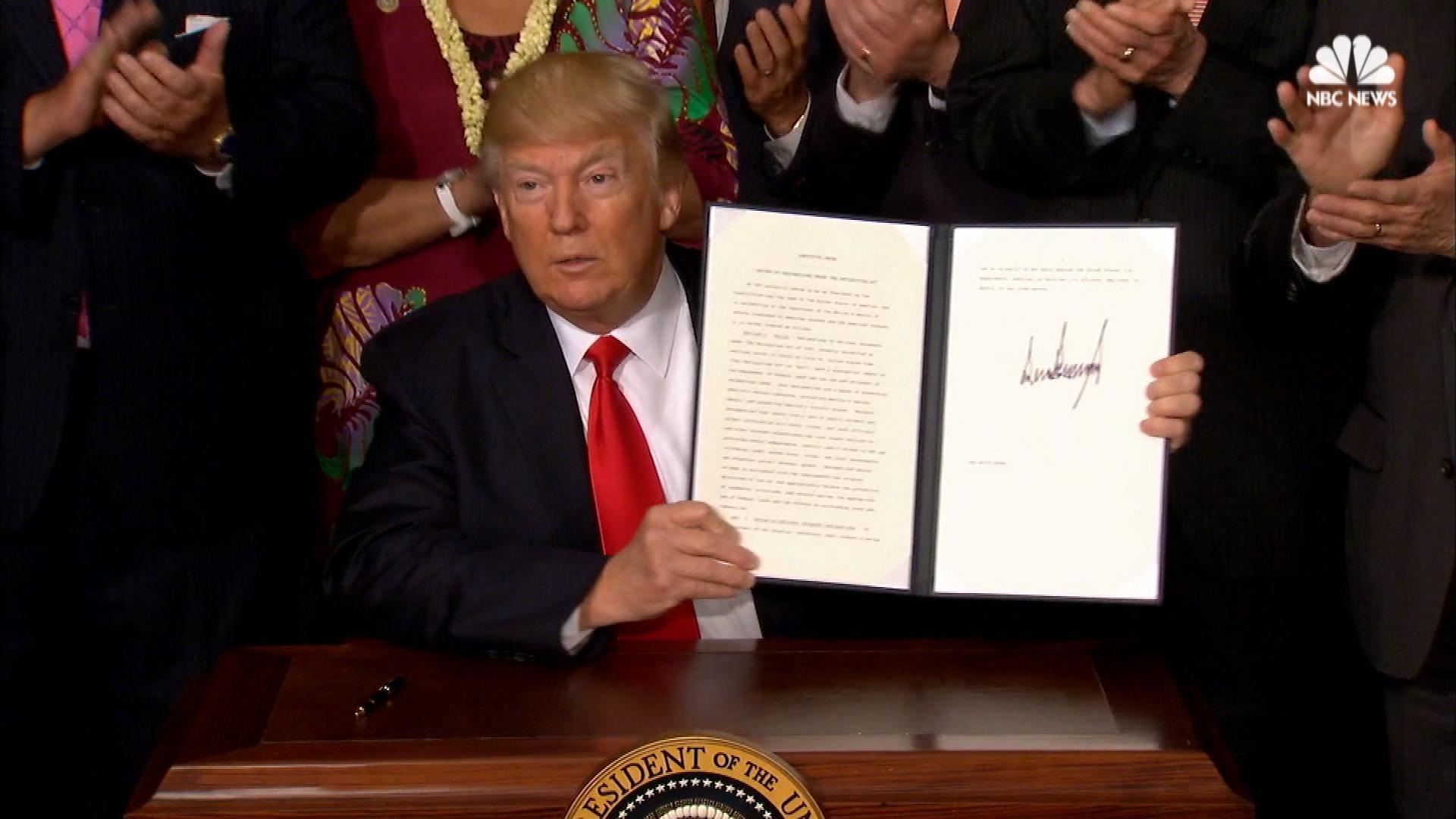 news local trump order review national monuments