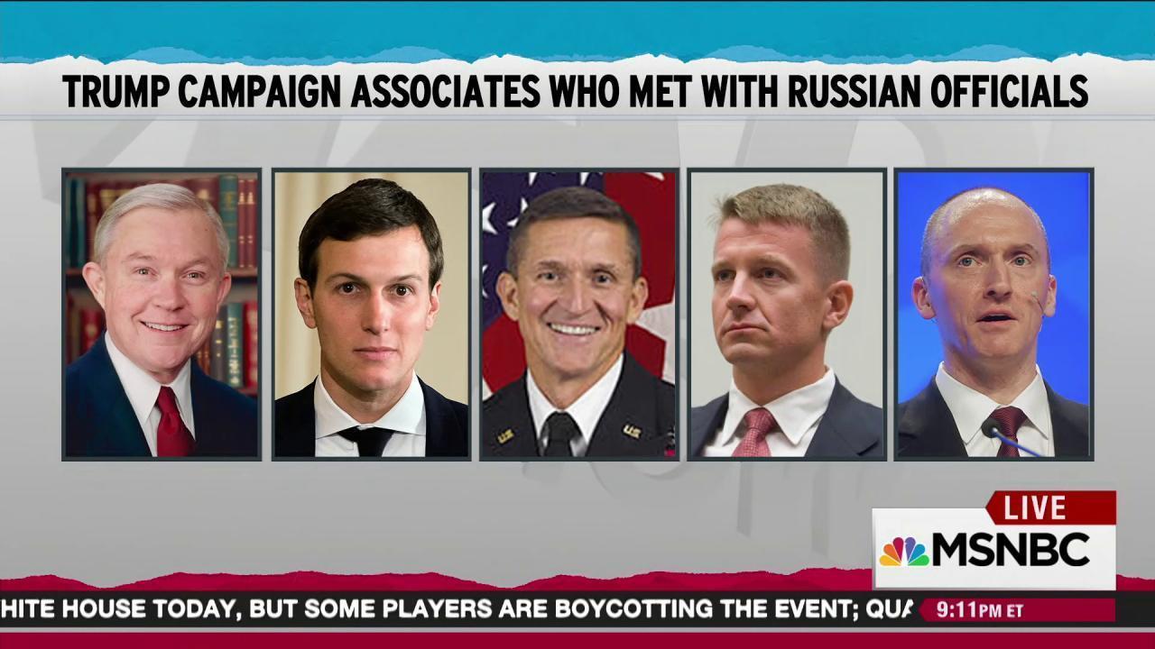 Erik Prince grows Trump Russia contact list