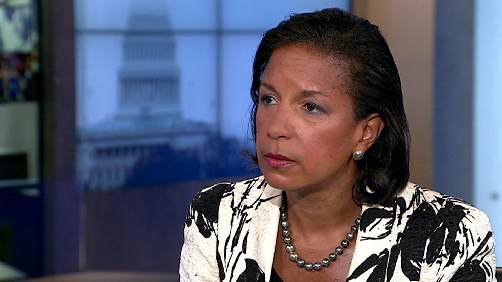 'I leaked nothing to nobody,' Susan Rice...