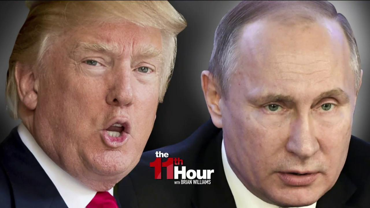 Trump & Putin share call ahead of Russia...