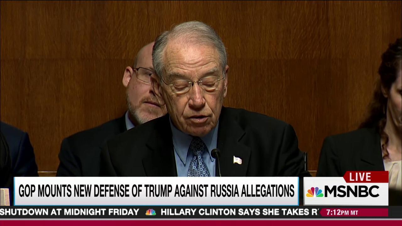 New GOP tactic targets Trump Russia dossier