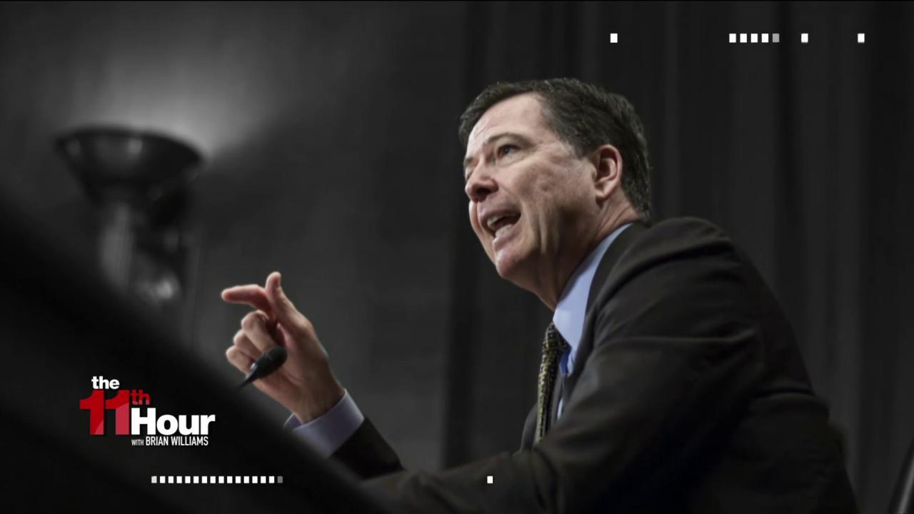 FBI boss Comey: Russia the 'greatest...