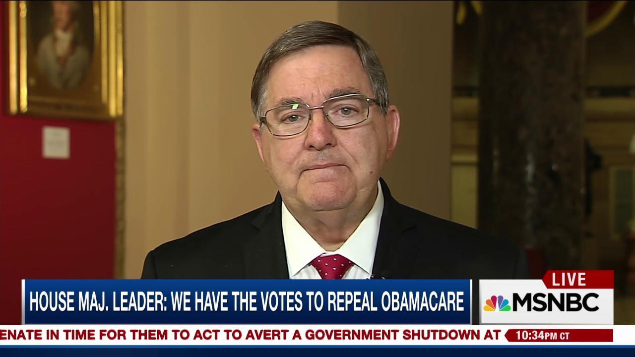GOP Rep. Burgess says pre-existing...