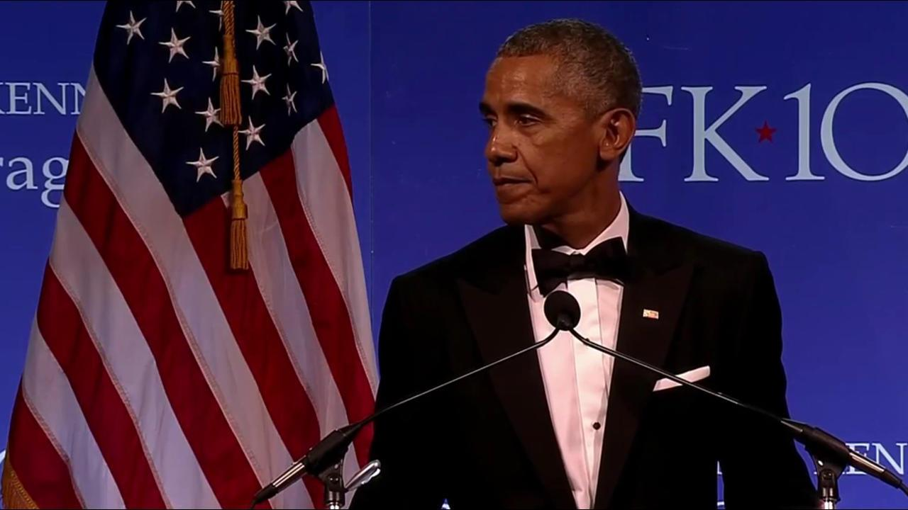Crucial for Americans to Resist 'Hate,' Obama Says in Rare Address