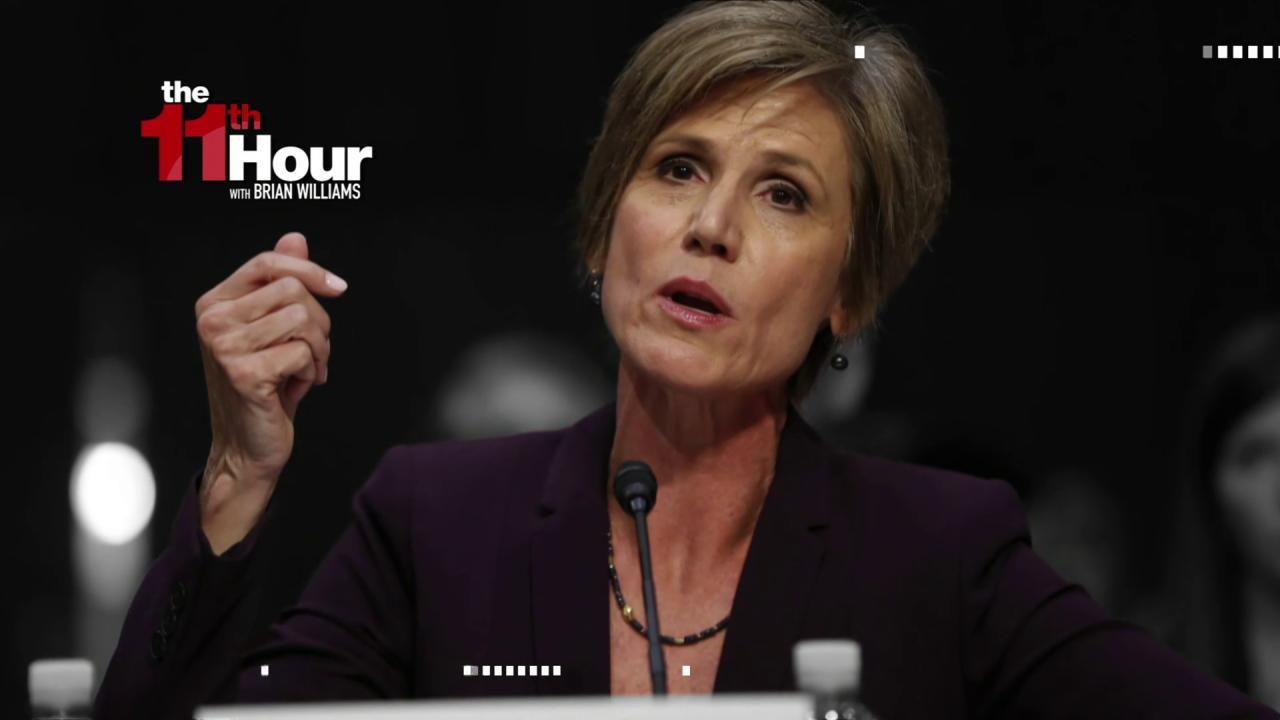Yates testifies on Russia, Mike Flynn, &...