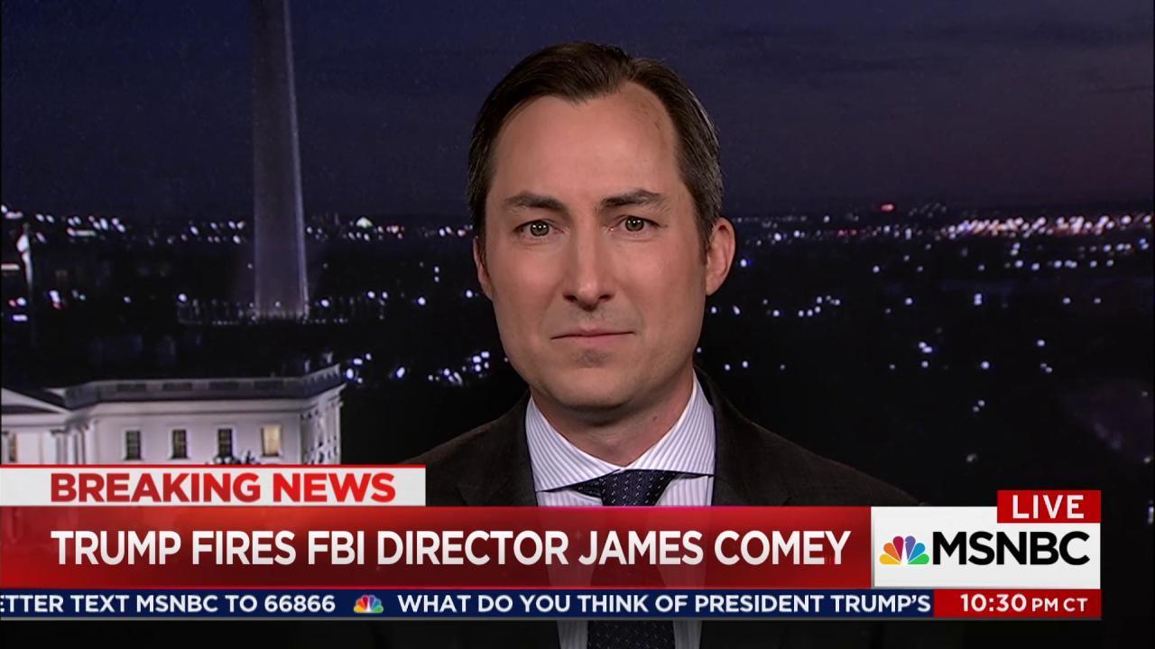 Fmr. DOJ Spox: WH trampling on FBI's...