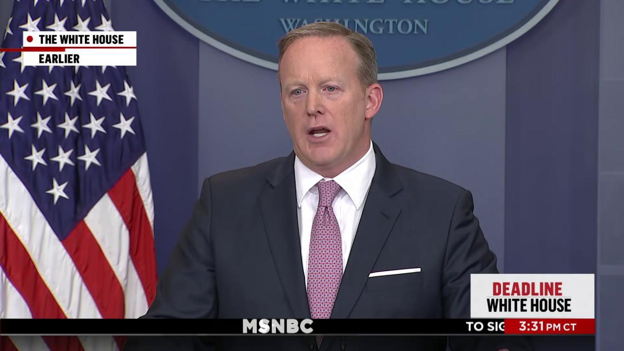 The credibility gap for the WH press office