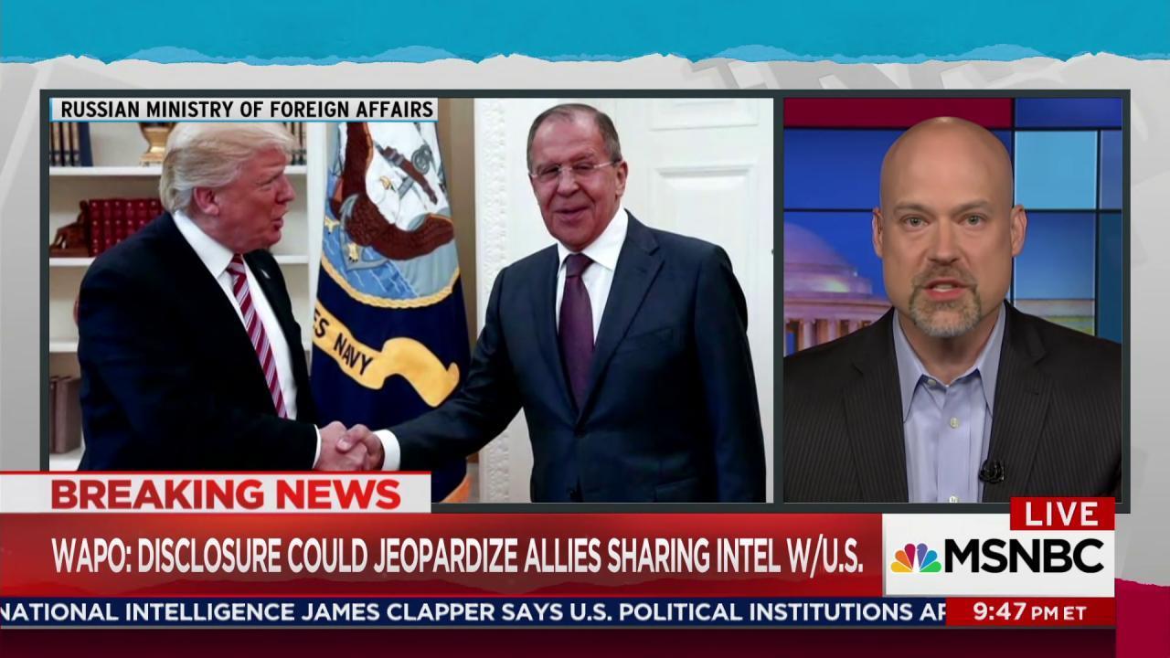 Scarce precedent for Trump's reported leak