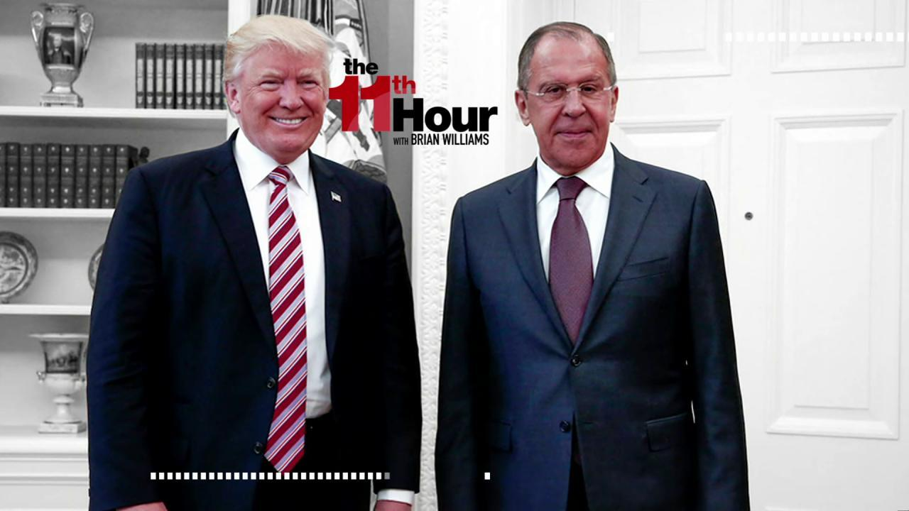 Trump reportedly shared secrets with Russians