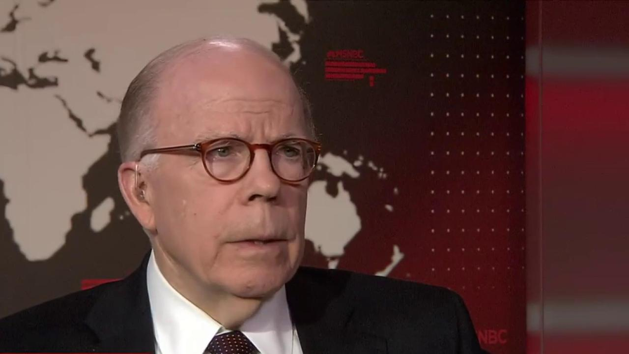 Former CIA Acting Director: Trump Putting...