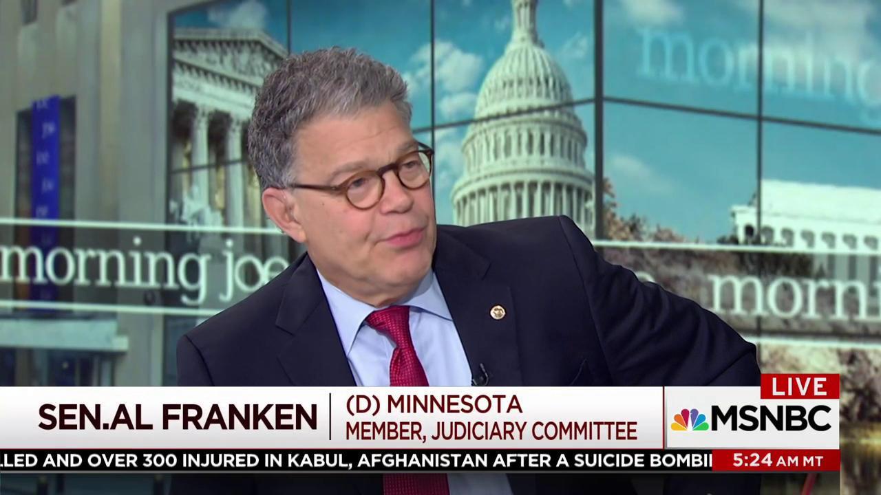 Al Franken: Polarization in DC as bad as...