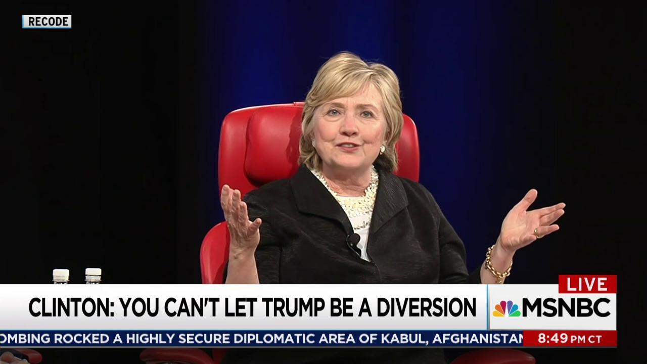 Candid Clinton talks 2016, Russia, misogyny