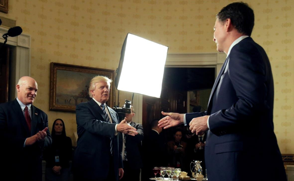 Report: Comey tried to blend in with W.H....