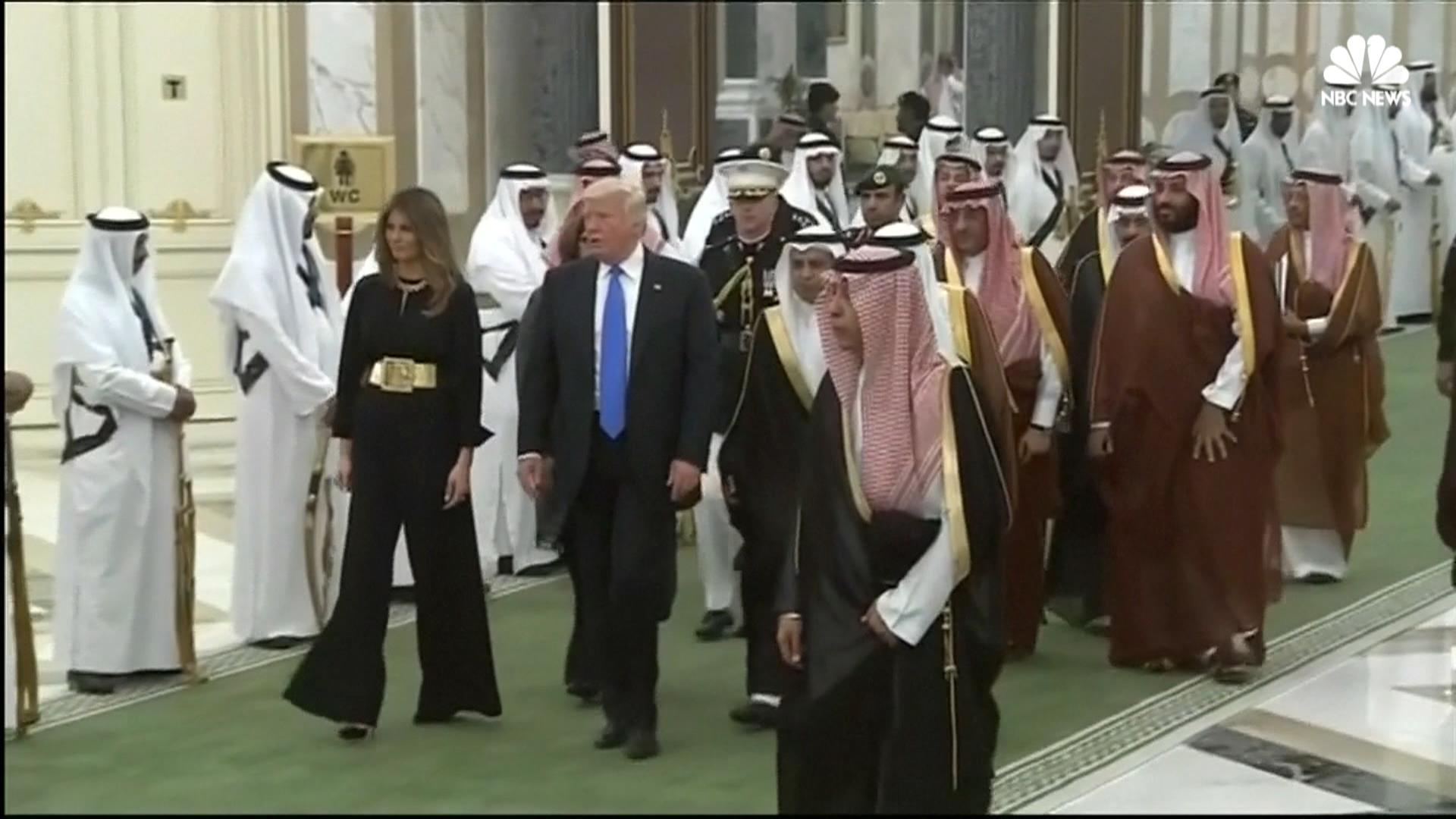 Image result for trump saudi arabia $110