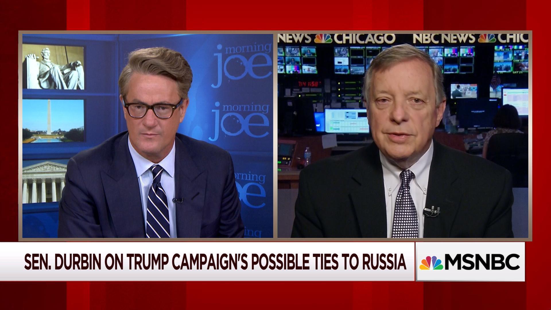 Sen. Dick Durbin: 'President Trump is dangerous'