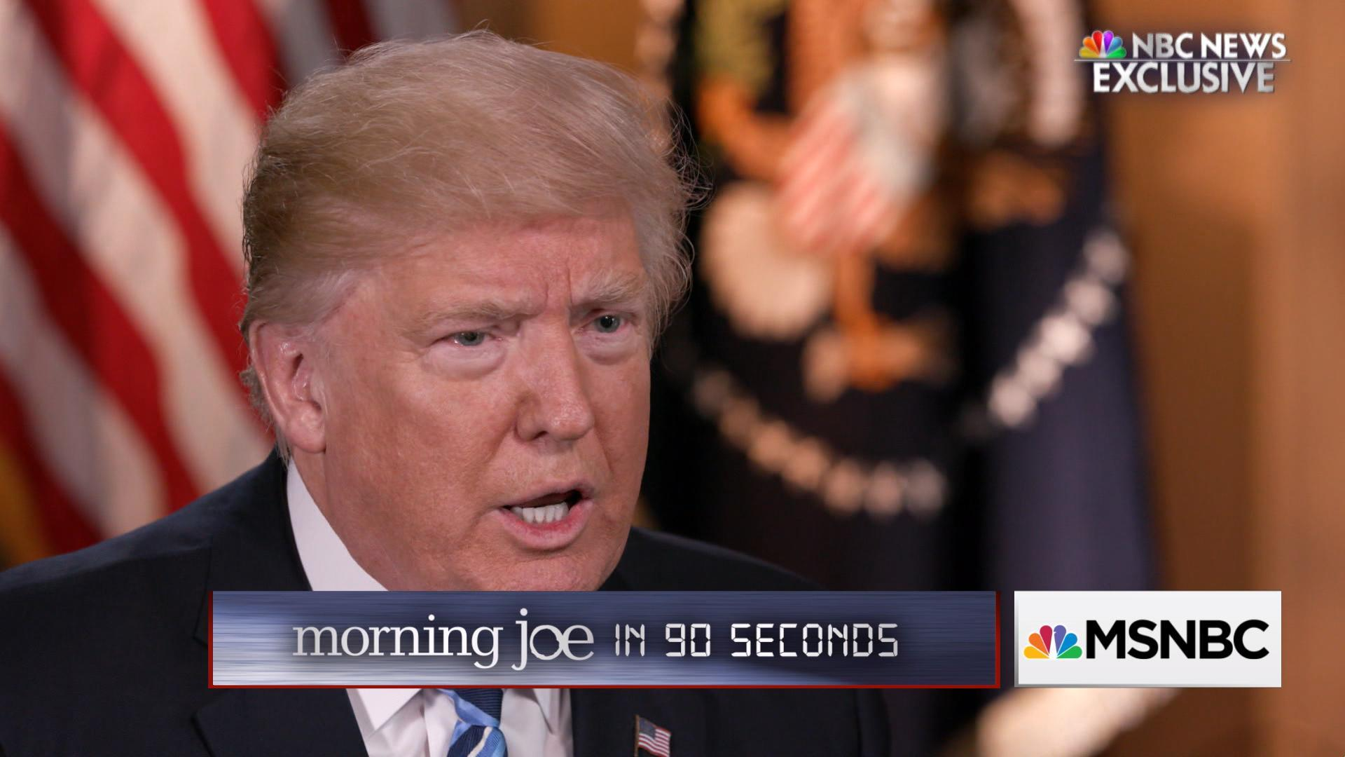 Morning Joe in 90 seconds