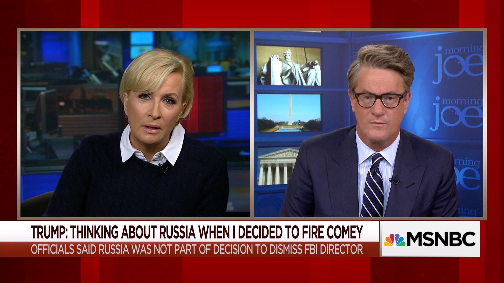 Mika Brzezinski on the WH spectacle: 'It's politics porn'