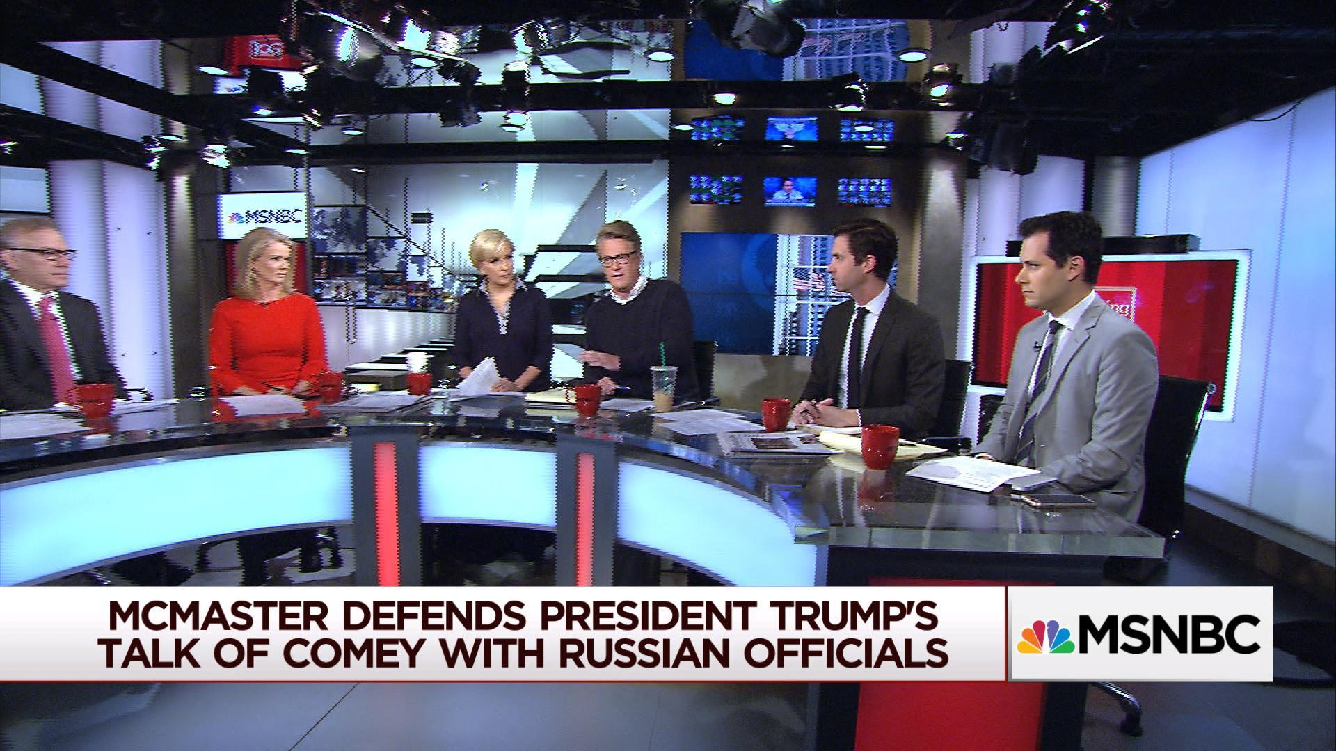 Did Trump reveal to Russia his motive for...