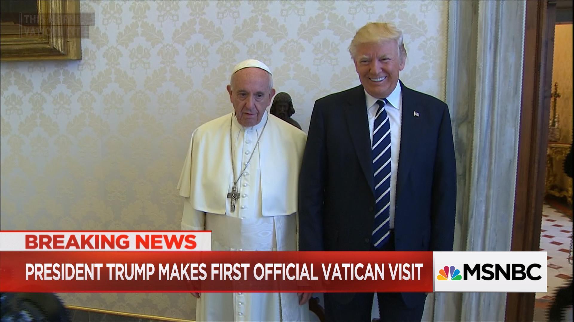 Outspoken Pope meets outspoken President