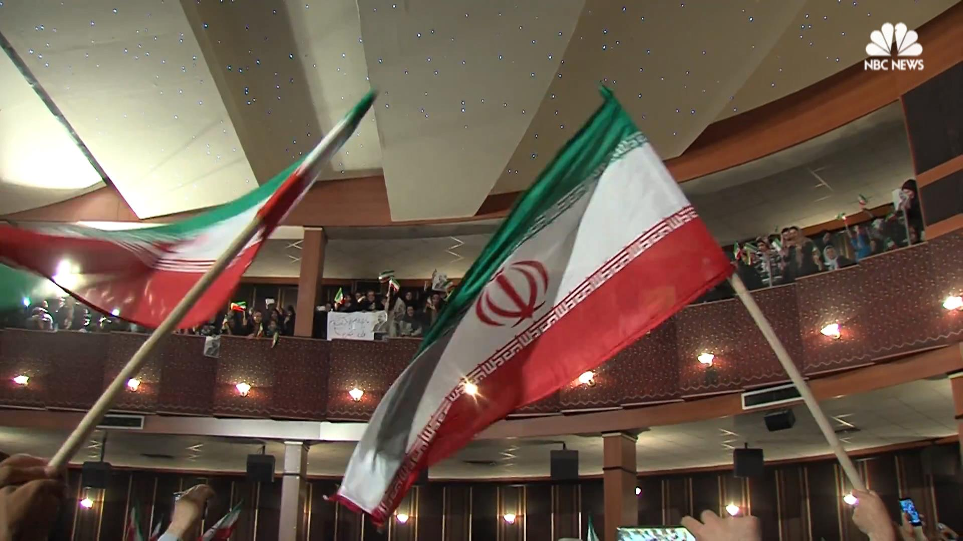 Iran Presidential Election Scenes From Candidate Rallies Nbc News