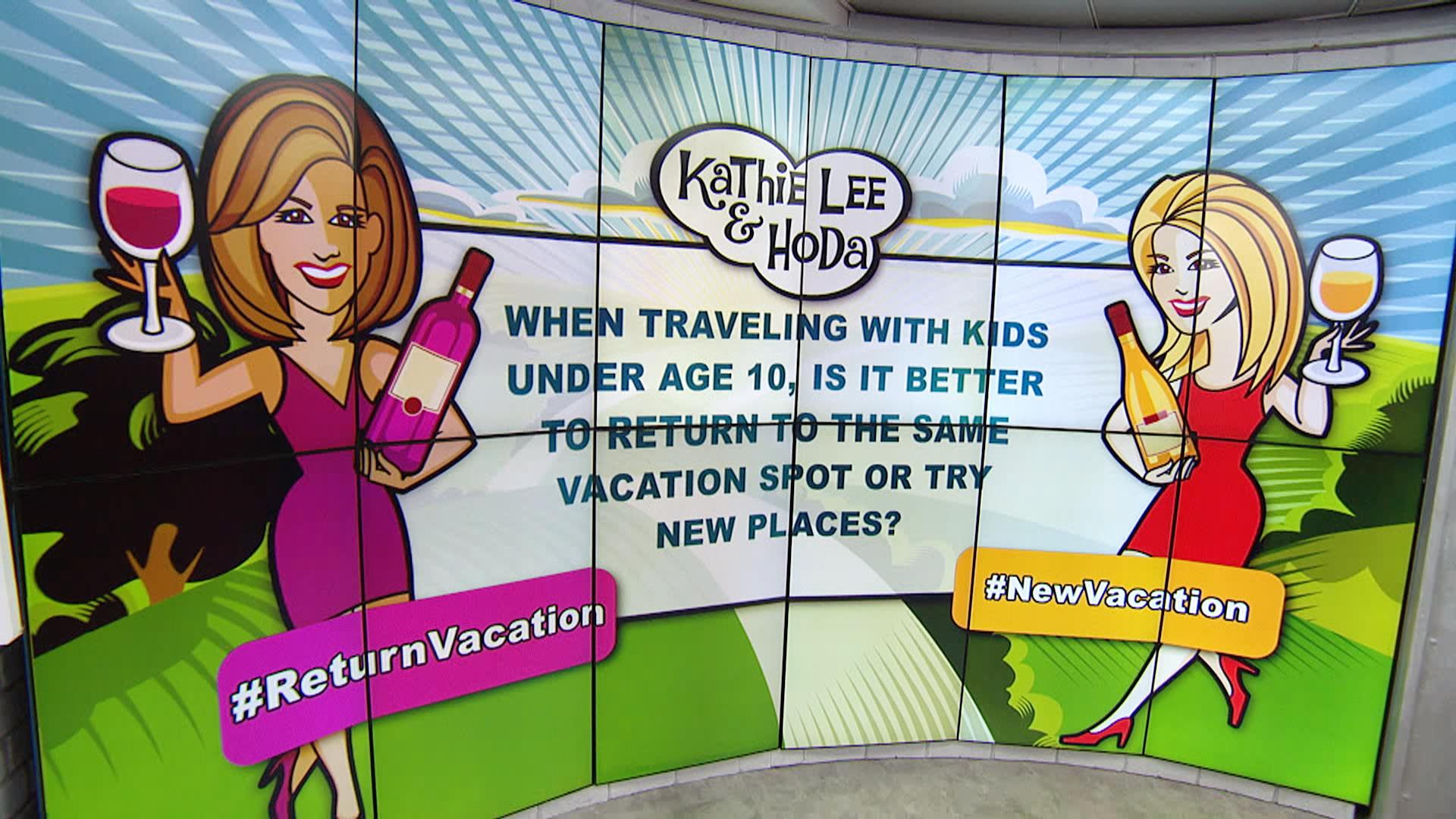 Is travel wasted on young children? Weigh in on Wednesday Winebot