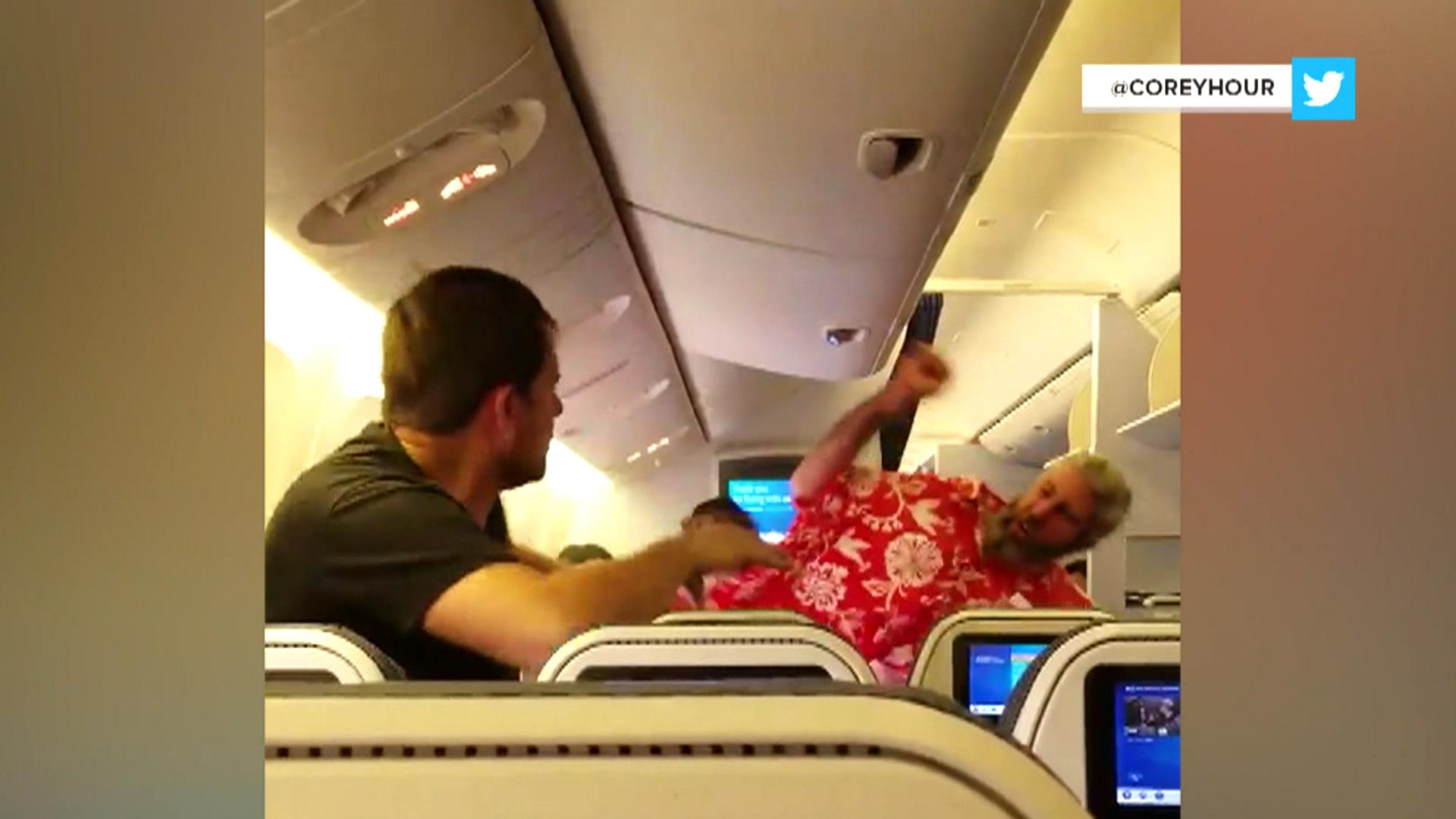 Wild fistfight breaks out on plane as airline execs head to Capitol Hill