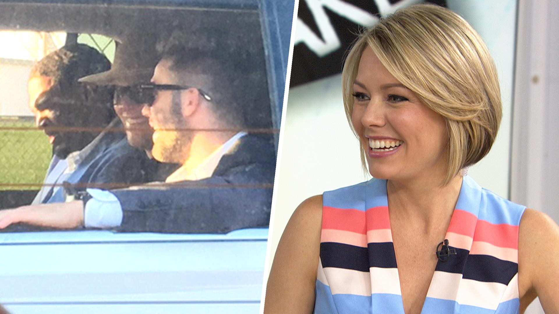 Dylan Dreyer Describes Her Close Encounter With Tom Brady
