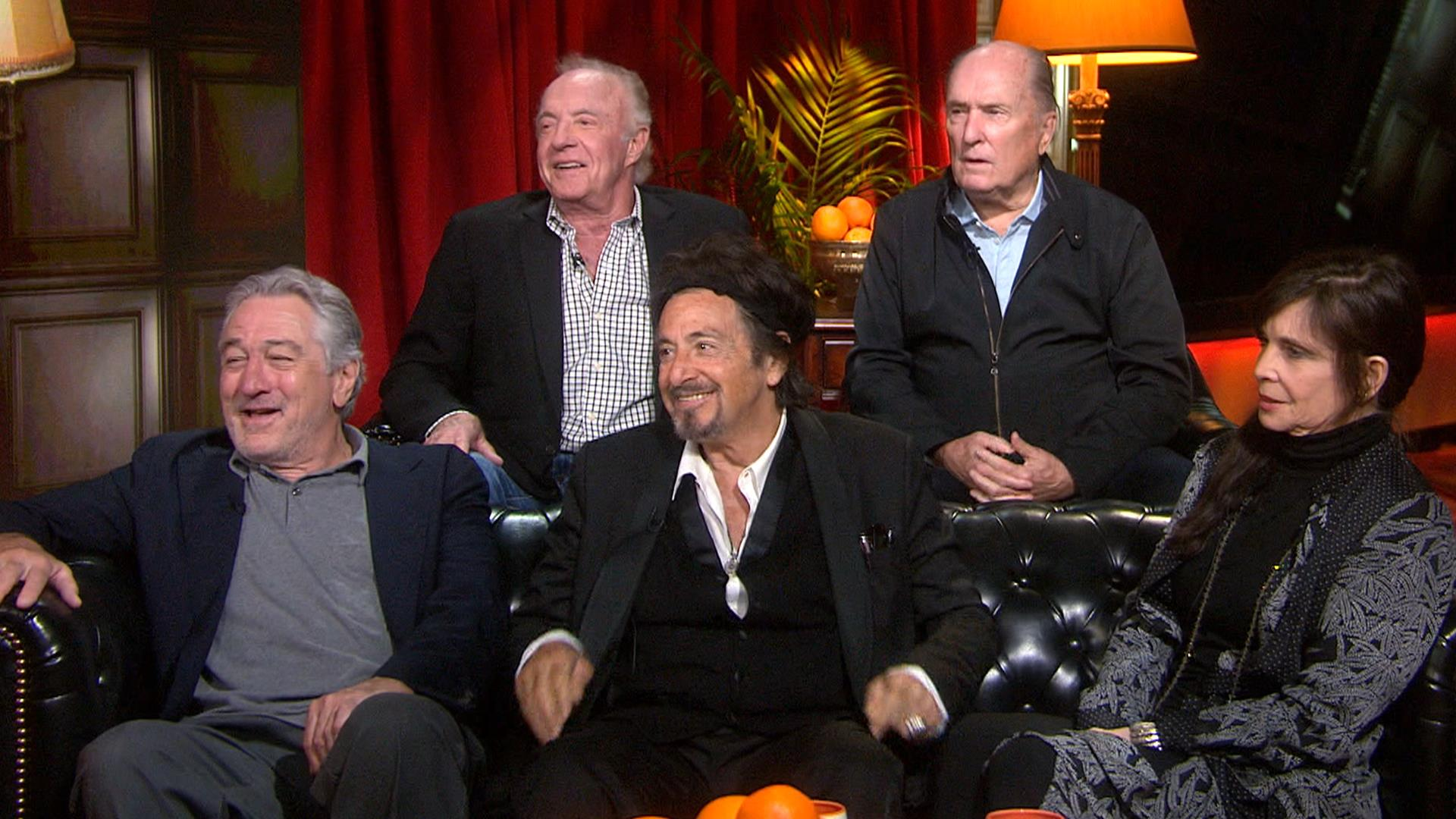 the �godfather� cast reunites 45 years later � hear why al