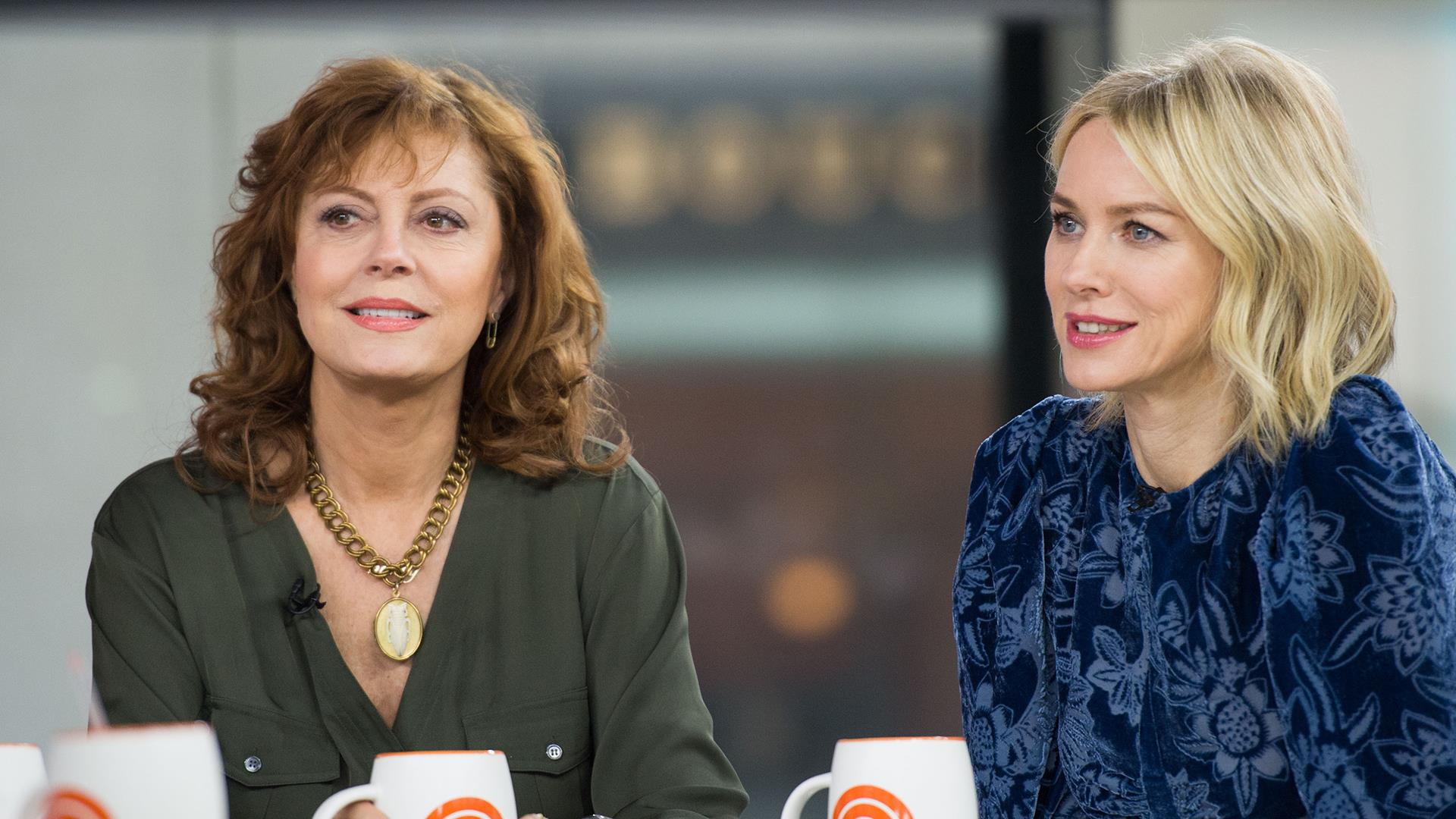 Susan Sarandon and Naomi Watts on co-starring in '3 ...