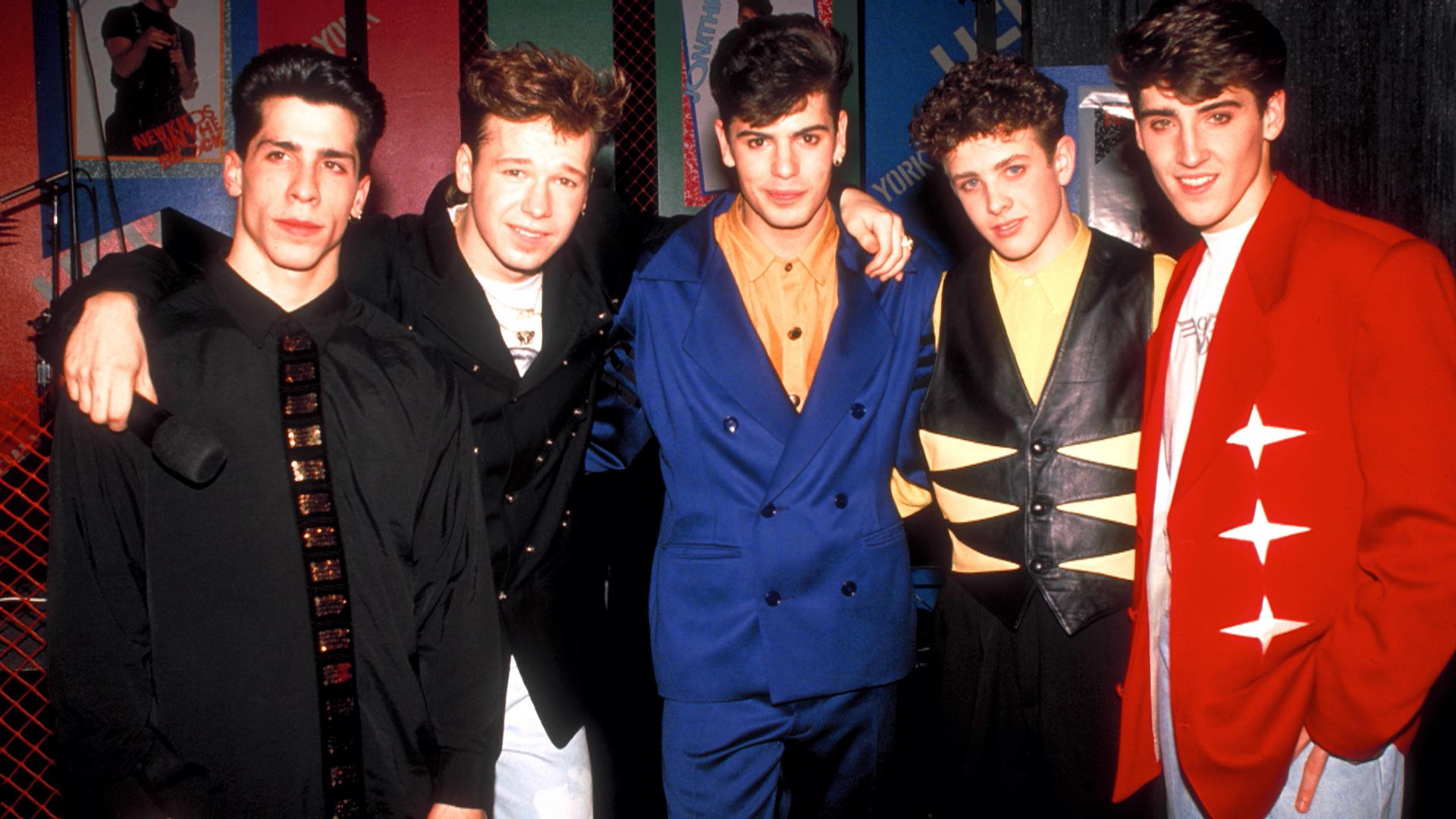 New Kids on the Block share throwback photos of their \'80s outfits