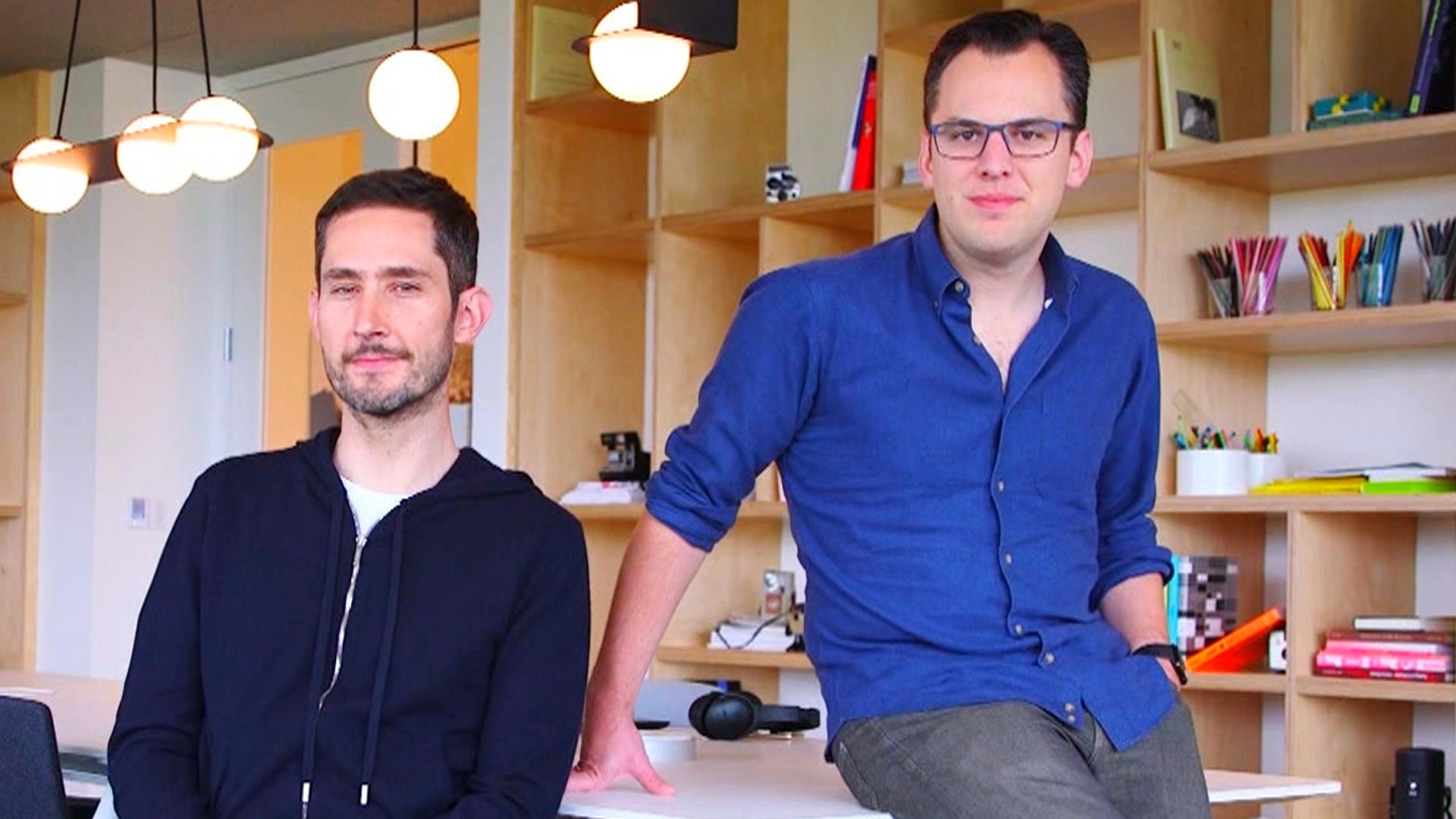 Instagram founders on success of their app: 'Beyond our