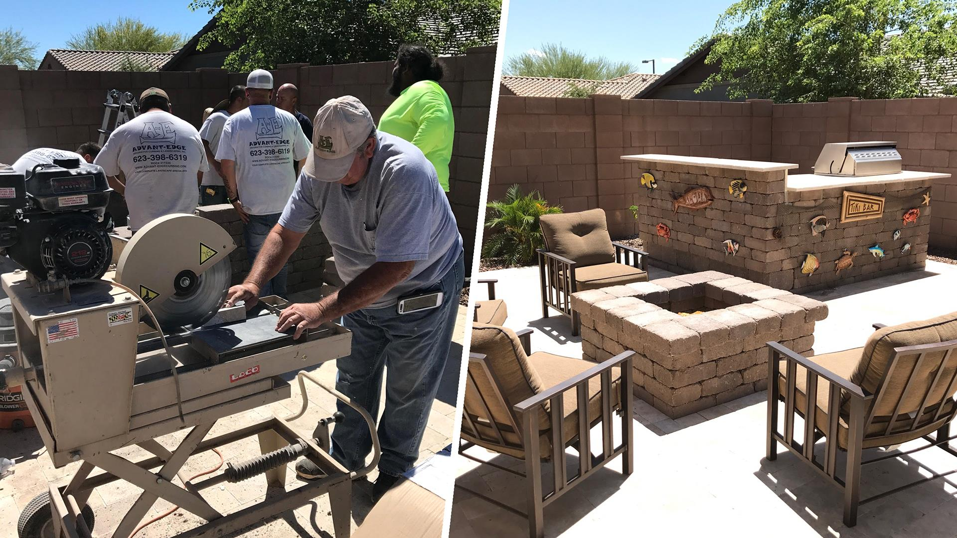 neighbors join together to renovate backyard for boy with cancer