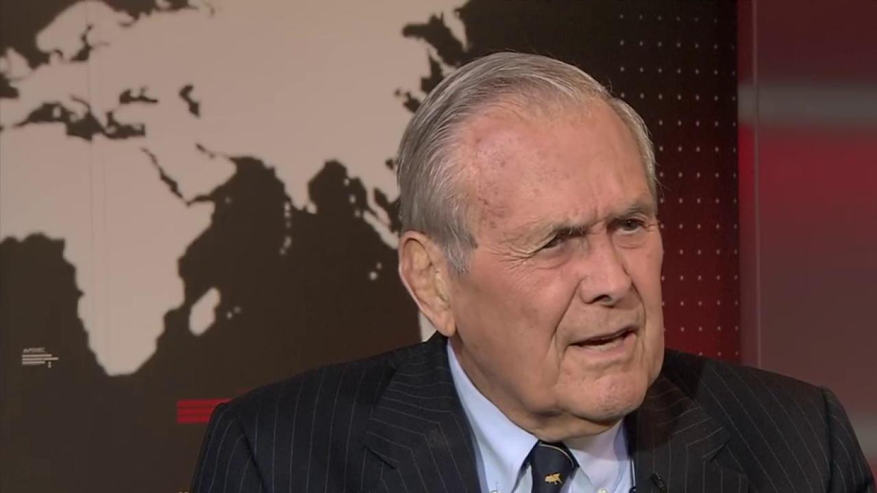 Rumsfeld: Putin Shouldn't Be Encouraged to...