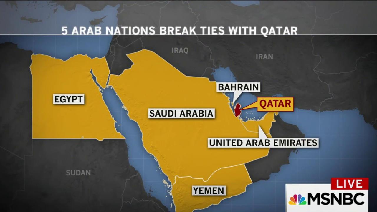 qatar and its neighbors have been at odds since the arab spring