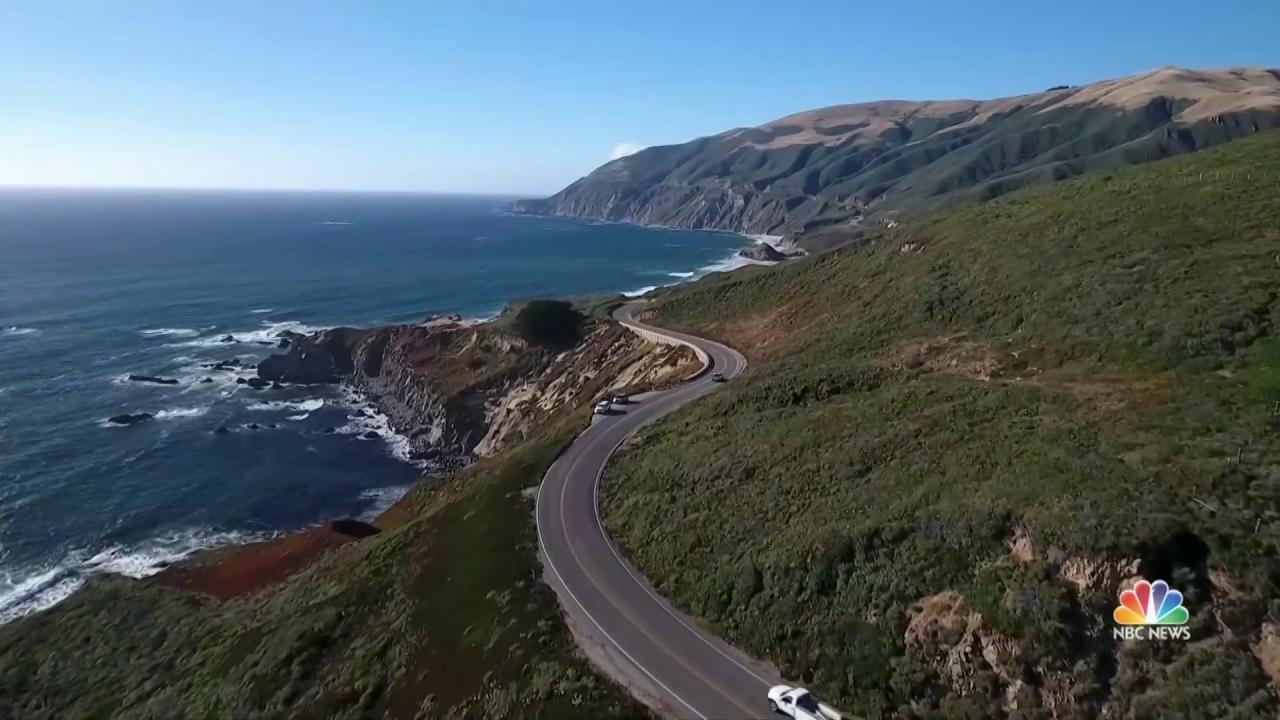 After Landslides, California's Big Sur Facing Tough ...