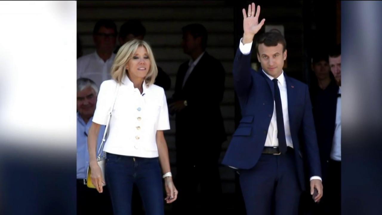 Joe: Macron's rising is a response to...