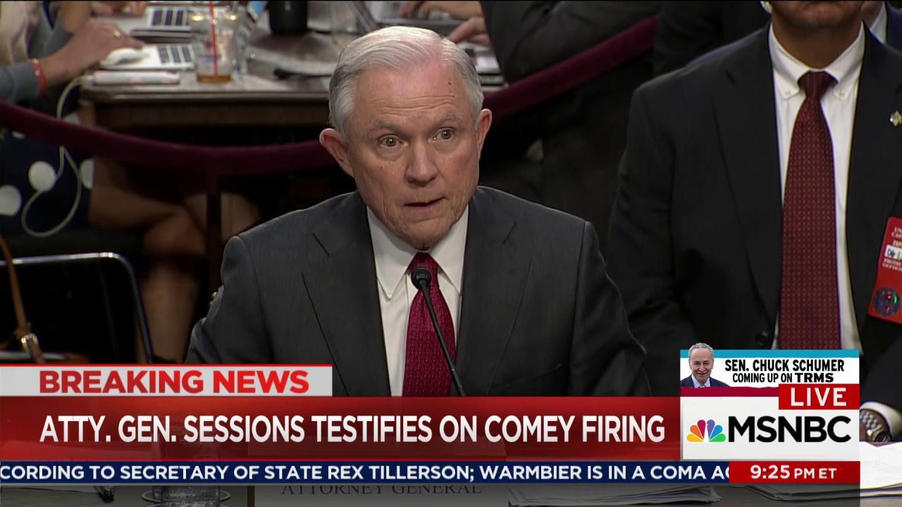 Trump team desperate to explain Comey firing