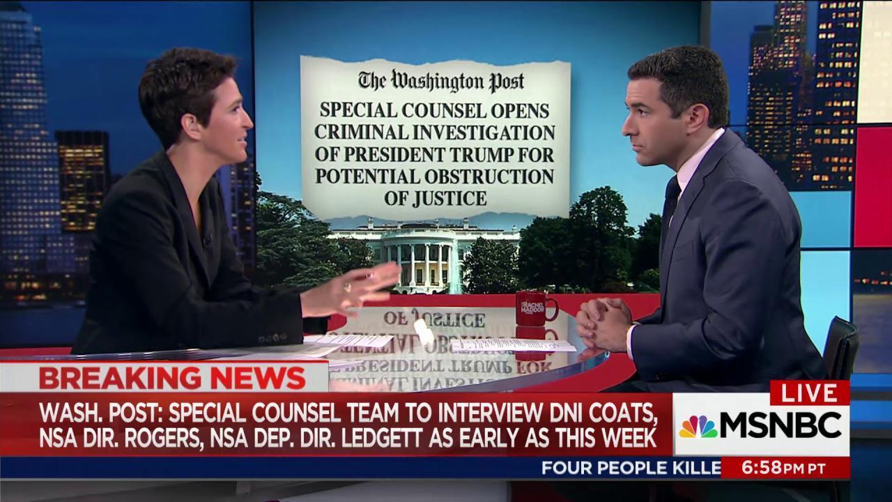Investigation of Trump extends Russia probe
