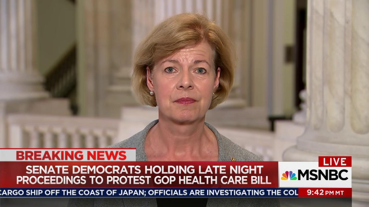 Senate Dem: 'We've got a big fight ahead...