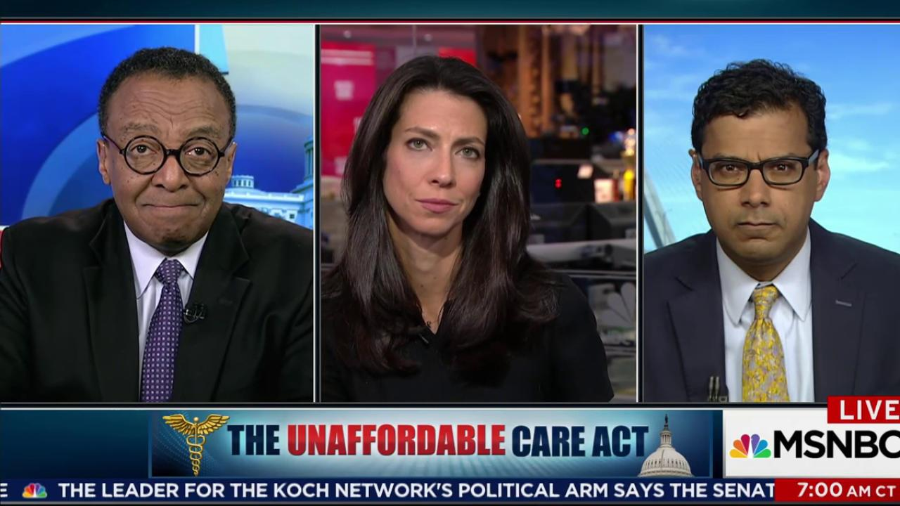 The Unaffordable Healthcare act