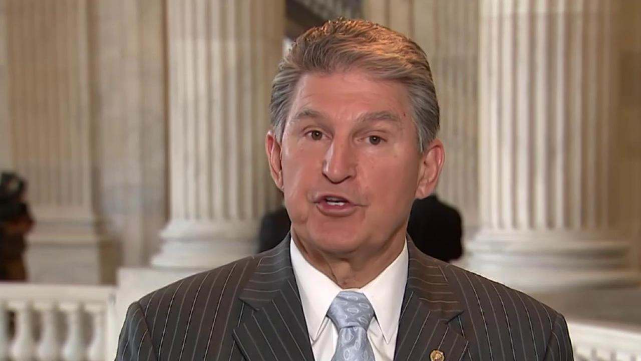 Manchin: The government shouldn't be your...