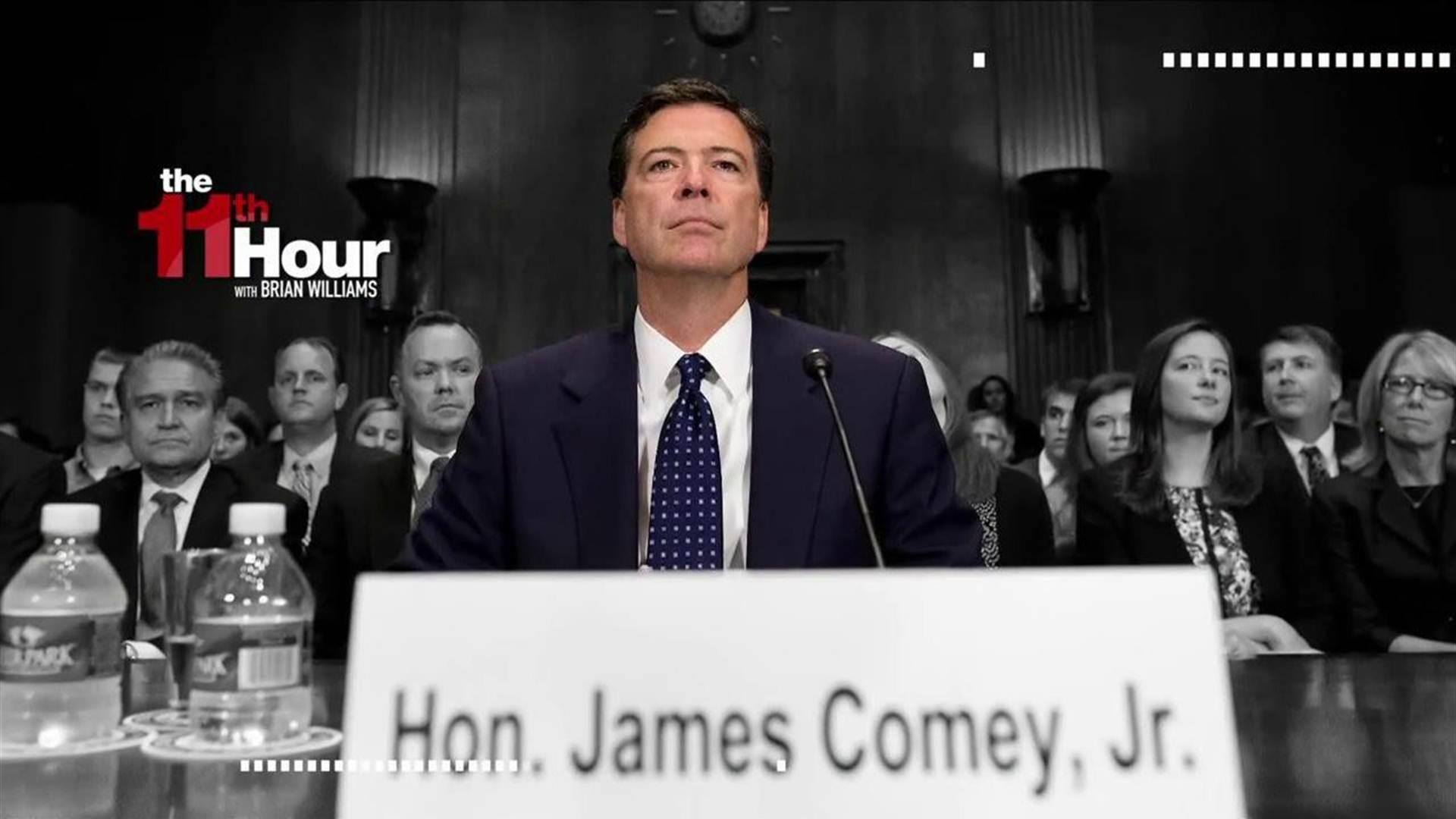 Released Comey testimony details his...