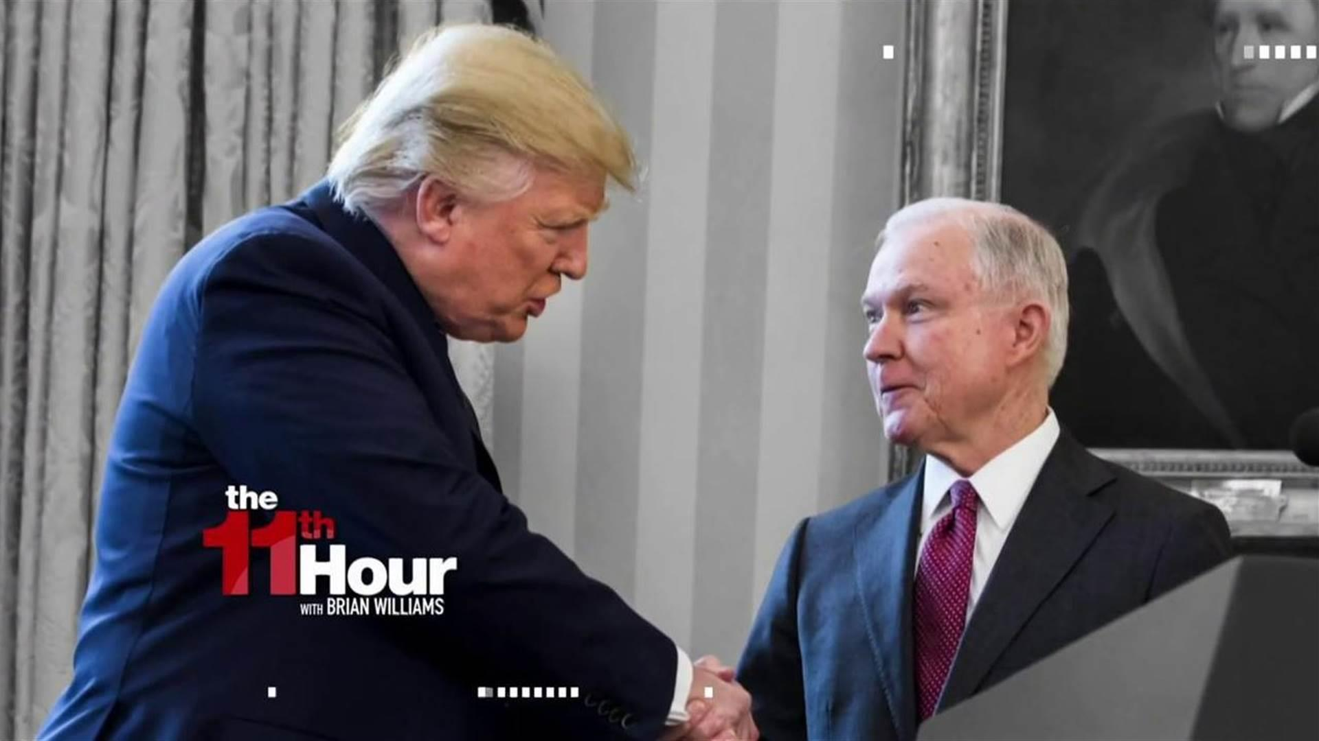After Sessions hearing, White House still...