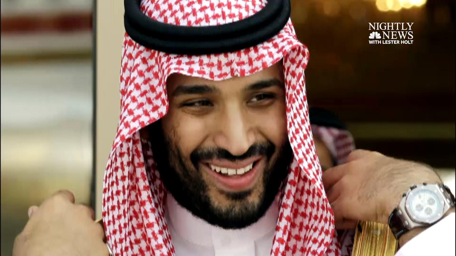 U S  officials: Saudi crown prince has hidden his mother