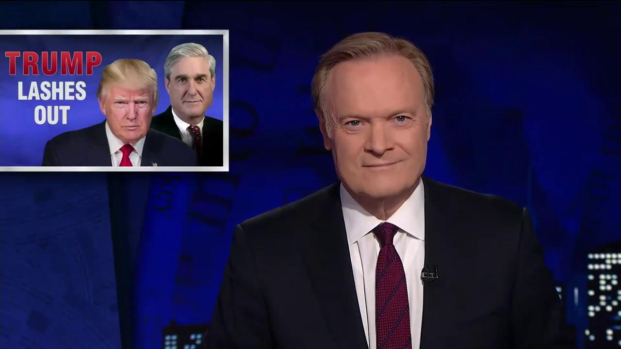 Lawrence on 'the cancer on the Trump...