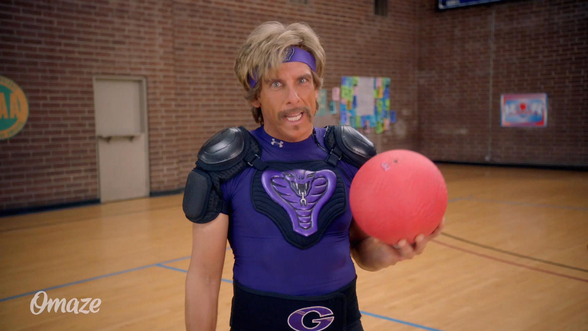 �dodgeball� cast reunites for charity dodgeball game