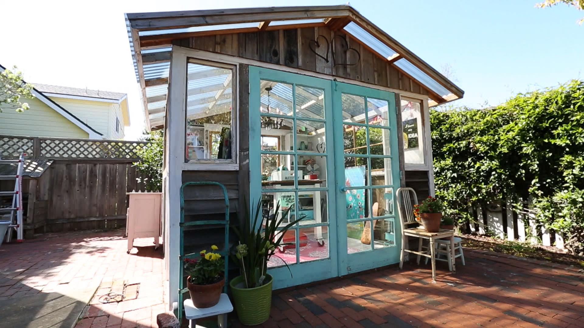Introducing the she shed women s answer to the man cave - What is a man cave ...