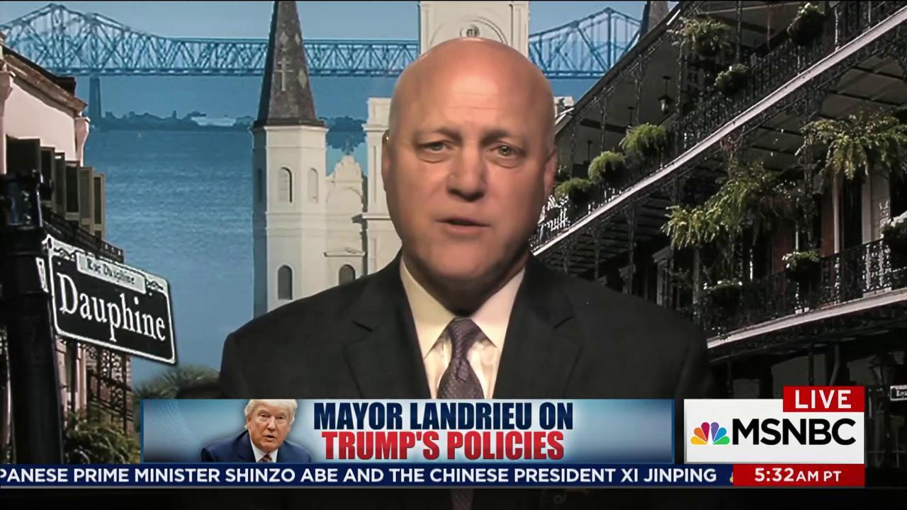 One-on-one with Mayor Mitch Landrieu